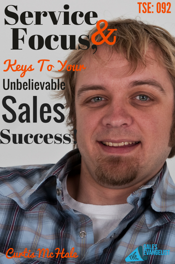 Curtis McHale, E-commerce, The Sales Evangelist