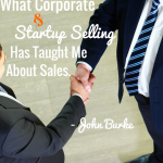 John Burks MSI Lighting, Corporate Sales, Start Up Sales Training TSE
