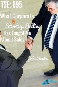 John Burks MSI Lighting, Corporate Sales, Start Up Sales Training TSE