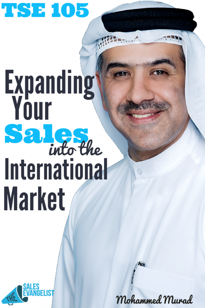Toastmaster; International Sales, Mohammed Murad