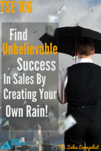 How to be successful in sales, The Sales Evangelist, Meetup