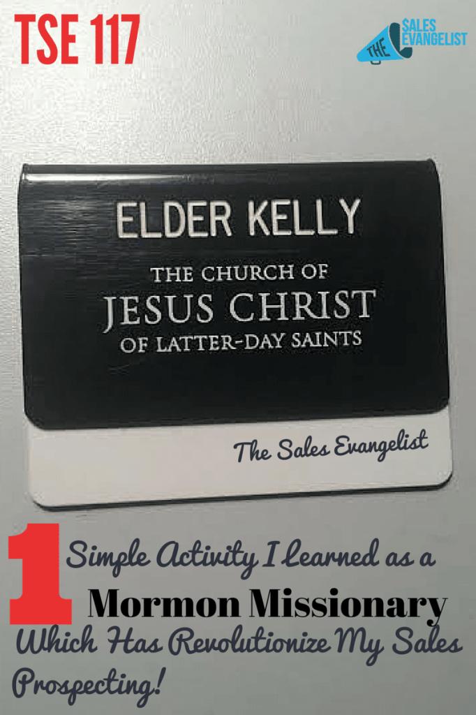 Mormon Missionary, Door to Door, Prospecting