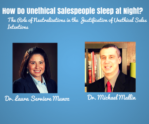 How Do Unethical Sales People Sleep at Night?