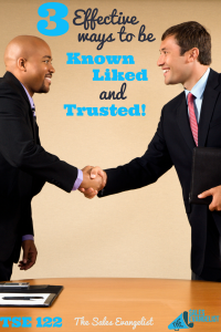know Like and Trust; Selling; Podcast; Sales Training