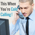 Cold Calling, Donald Kelly, Donald C Kelly