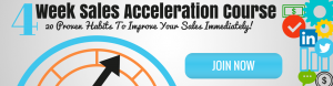 4 Week Sales Acceleration Course