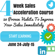 Week Sales Acceleration Course