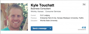 Kyle Touchatt, The Sales Evangelist Podcast, CLC Lodging