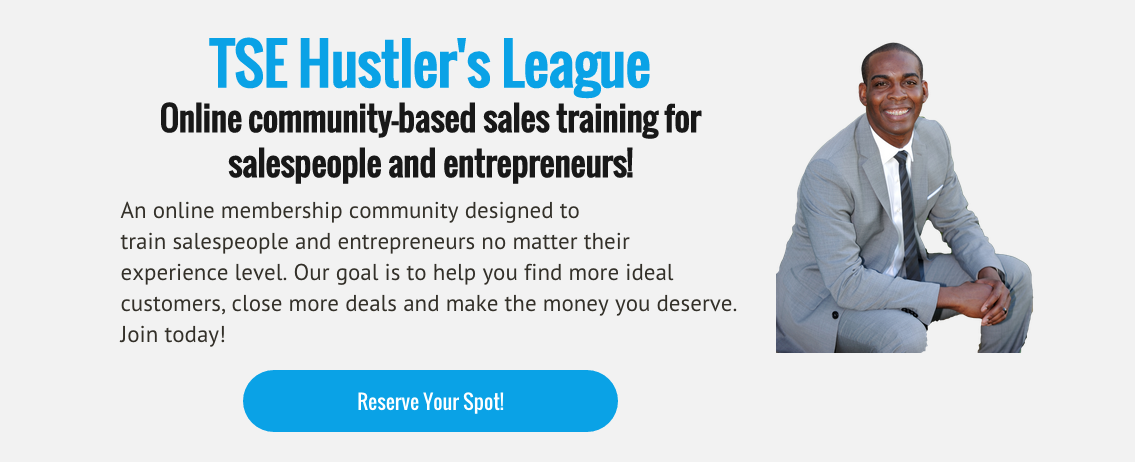 Donald Kelly, The Sales Evangelist, TSE Hustler's League