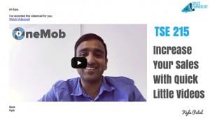 Sales Prospecting; Salesforce, OneMob, Kyle Patel