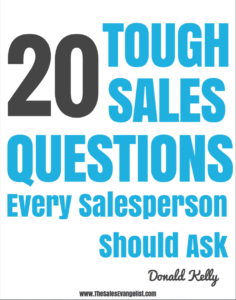 20 Tough Sales Questions