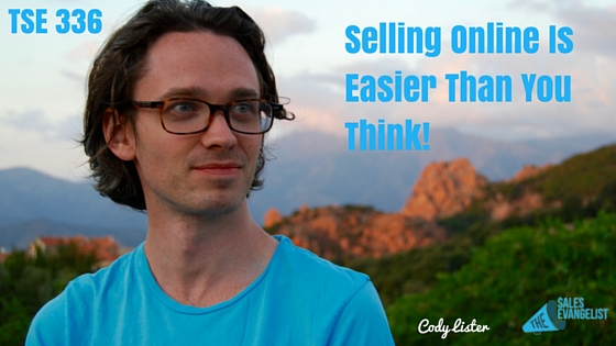 Cody Lister, Blogging, Content Marketing, The Sales Evangelist