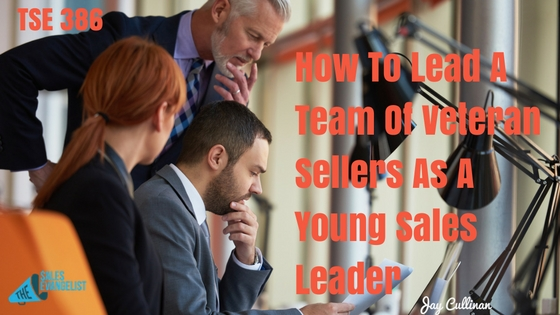 Sales Leader, Being A Young Sales Leader, Jay Cullinan, Donald Kelly