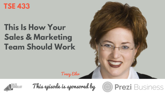 Sales, Marketing, Account Based Selling, Tracy Eiler