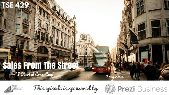 Tony Elam, Donald Kelly, The Sales Evangelist, Best Sales Podcast
