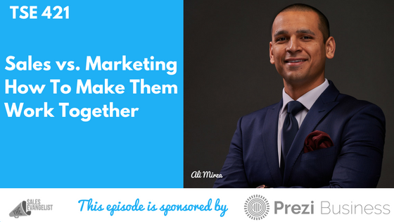 Ali Mirza, Donald Kelly, Sales, Marketing
