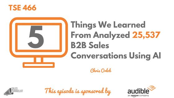 Chris Orlob. Sales Hacker, The Sales Evangelist, Donald Kelly
