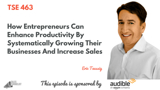 TSE 463: How Entrepreneurs Can Enhance Productivity By Systematically Growing Their Businesses And Increase Sales