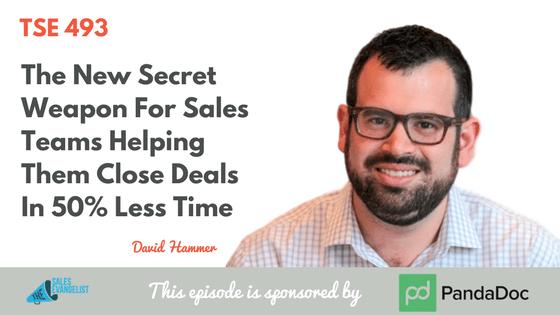 David Hammer, Donald Kelly, The Sales Evangelist Podcast