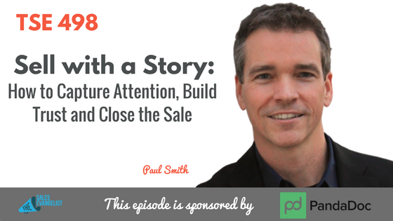 Sales Story, Sales Leader, Donald Kelly, Paul Smith