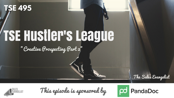 Prospecting, TSE Hustler's League, Donald Kelly, Best Sales Podcast