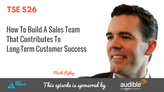 Mark Ripley, Insightly, Donald Kelly, The Sales Evangelist Podcast