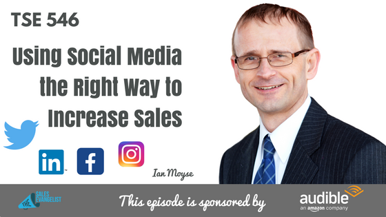 Social Selling, Ian Moyse, Donald Kelly, The Sales Evangelist Podcast