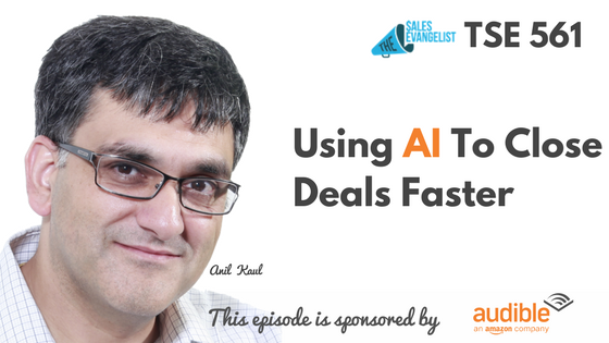 Anil Kaul, Donald Kelly, The Sales Evangelist, AI