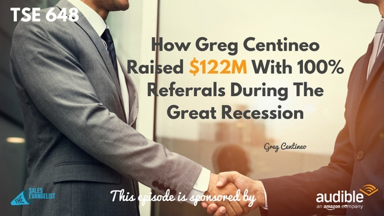 Greg Centineo, Donald Kelly, The Sales Evangelist Podcast
