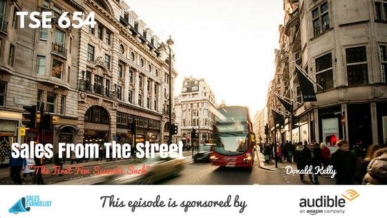 Sales from the Street, Donald Kelly, The Sales Evangelist