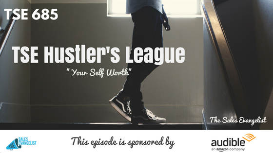 TSE Hustler's League, Donald Kelly, Self Worth, Sales