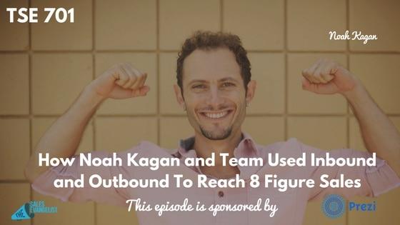 Noah Kagan, Donald Kelly, AppSumo, The Sales Evangelist