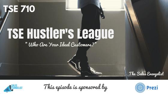 Donald Kelly, TSE Hustler's League, Ideal Customers, Sales