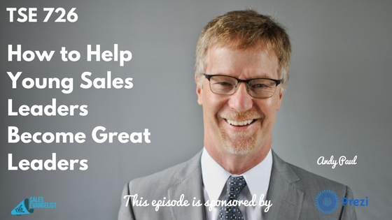 Donald Kelly, The Sales Evangelist Podcast, Andy Paul