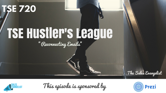 TSE Hustler's League, Donald Kelly, The Sales Evangelist, Email Marketing