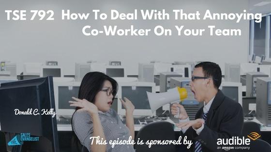 Annoying Co-worker, Office Worker