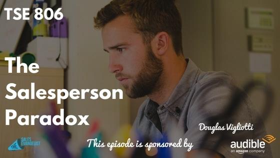 Douglas Vigliotti, Paradox, The Sales Evangelist