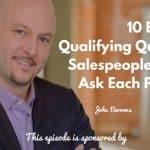 John Barrows, Donald Kelly, Best Sales Podcast
