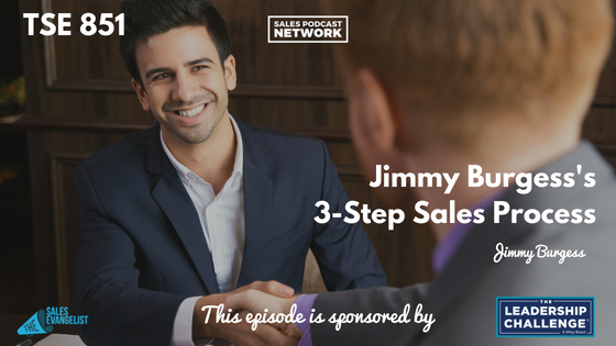 Jimmy Burgess, Donald Kelly, The Sales Evangelist