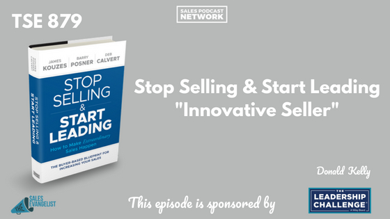 Stop Selling and Start Leading, Best Sales Books, The Sales Evangelist, Donald Kelly