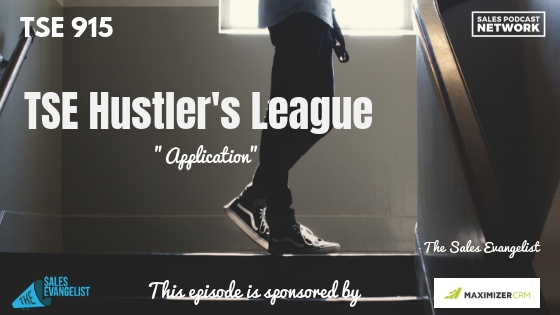 TSE Hustler's League, Application, New Client, Sales