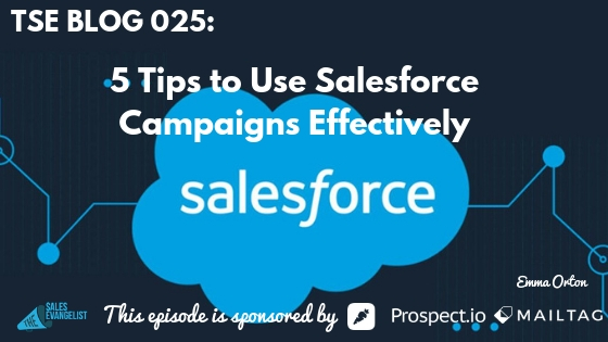 Salesforce, Campaign, CRM
