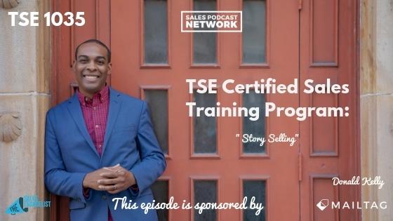 Story Telling, Donald Kelly, Sales Training