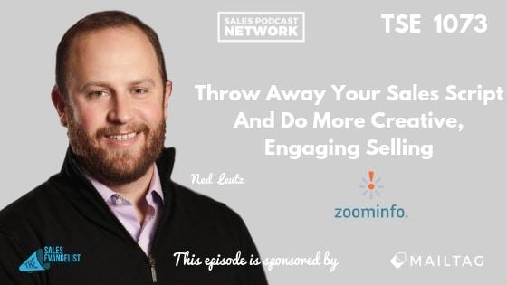 Ned Leutz, Zoominfo, Sales Script