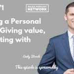 Social Selling, Personal Brand, Andy Storch, The Sales Evangelist
