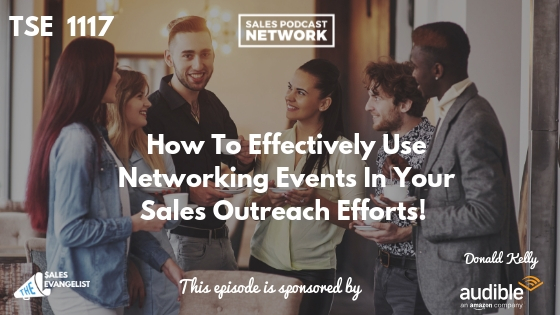 Donald Kelly, Eventbrite, Networking, Sales Outreach