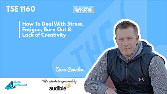 Stress, Fatigue, The Sales Evangelist, Dana Cavalea