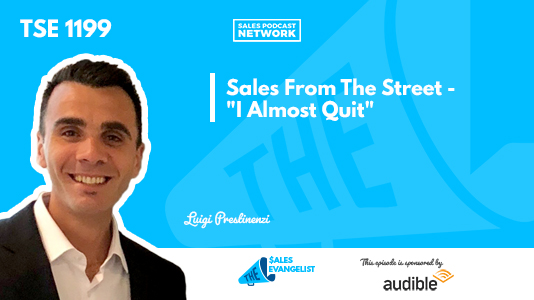 Sales From the Street, Motivation, Sales Activity