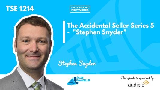 Accidental Seller Series, Stephen Snyder