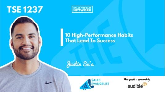 Justin Su'a, Sales Habits